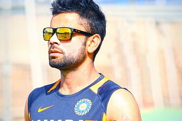 virat kohli side profile