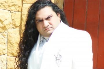 TAHIR SHAH'S ANGEL song singer front profile