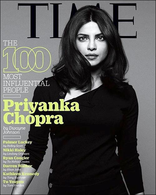 Priyanka Chopra magzen poster profile