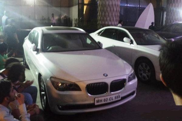 BMW car front profile