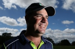 cricket coach Mickey Arthur front profile