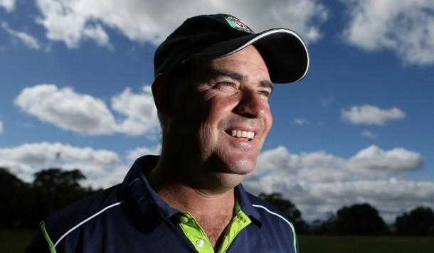 cricket coach Mickey Arthur front profile