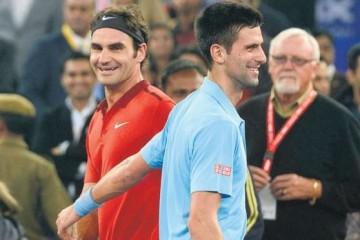 Novak Djokovic side profile
