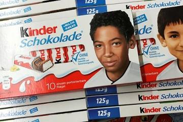 German CHOCOLATE kinder front profile