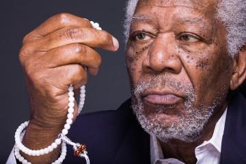 Morgan Freeman front profile