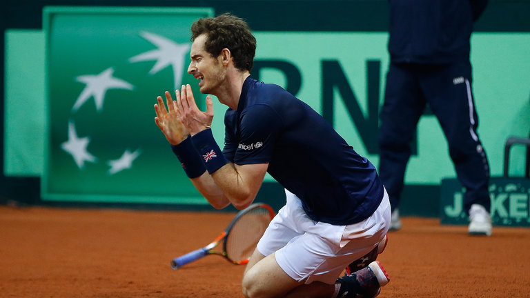 Andy Murray front profile