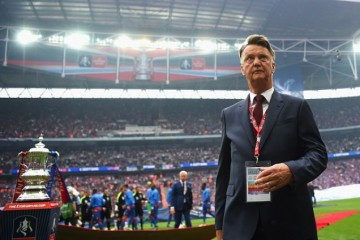 manager Louis Van Gaal front profile