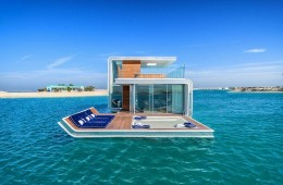 Dubai floating villa profile