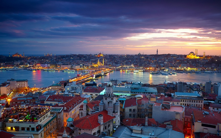 turkey city Istanbul view