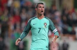Cristiano Ronaldo front profile