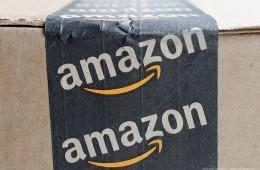 Amazon box front profile