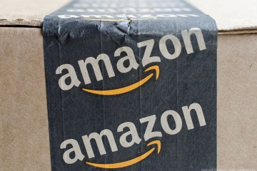 Amazon box front profile