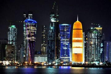 most expensive and richest city night view profile