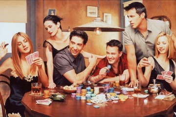 world famous TV show Friend poster