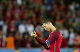 Cristiano Ronaldo side profile