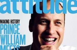 Prince William gay magzine cover profile