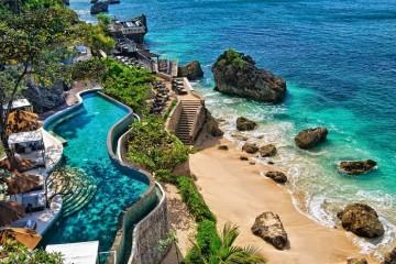 seaside resort front profle