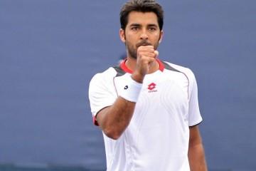 Pakistan tennis Aisam-ul-Haq front profile