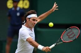 Roger Federer front profile
