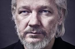 Julian Assange front profile
