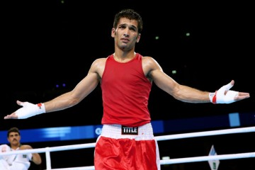 Quetta born boxer mohammad waseem front profile