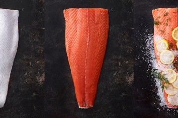 slice of boneless fish