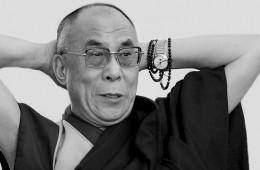 Dalai Lama front view