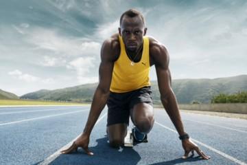 Usain Bolt front profile