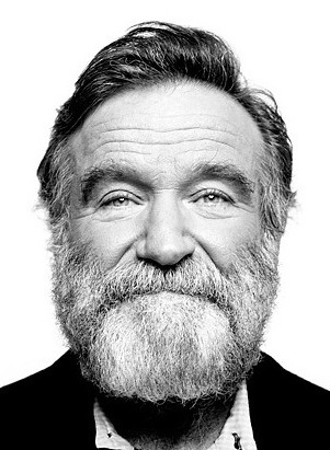 Hollywood comedian Robin Williams