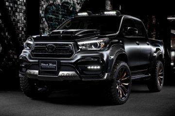 Toyota Revo Black Bison Side profile