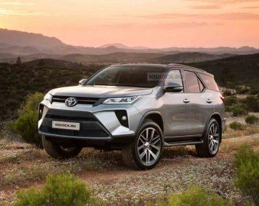 Toyota Fortuner 2020 Facelift