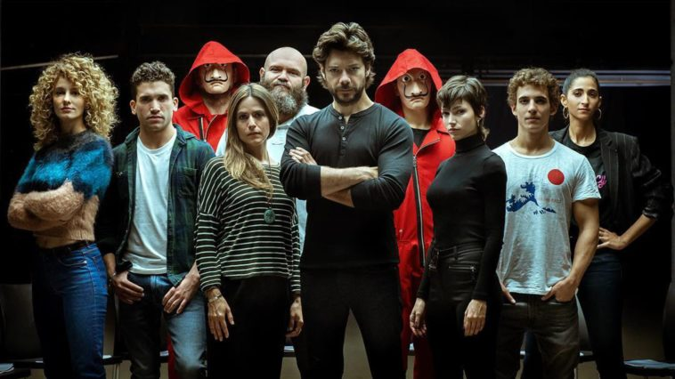 Cast of Money Heist Season 4