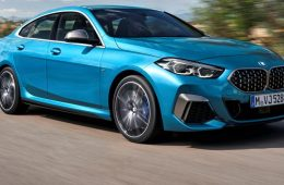 Blue BMW 2 Series Gran Coupe