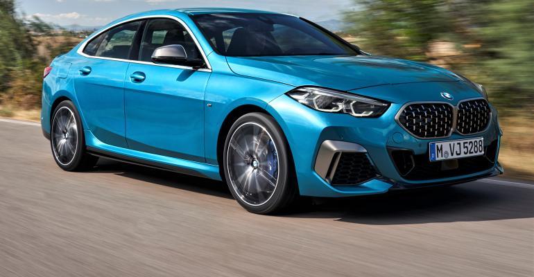 Blue BMW 2 Series Gran Coupe