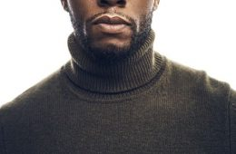 Chadwick Boseman Turtleneck Headshot