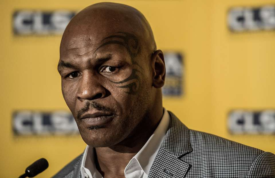 Mike Tyson Tribal Face Tattoo
