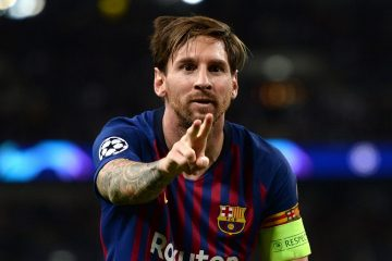 Captain Lionel Messi says Peace to Barcelona