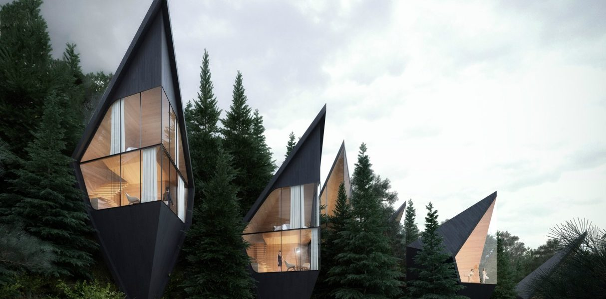 peter pichler designed tree house in dolomites italy