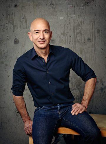 Amazon and Blue Origin CEO Jeff Bezos
