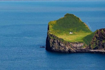 world's loneliest house in Iceland